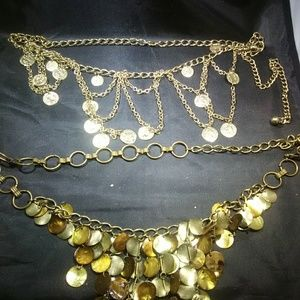 Vintage jewelry long necklaces